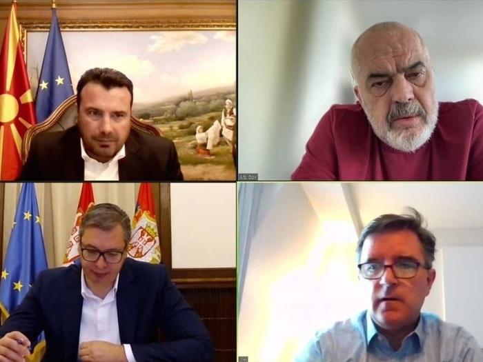 Vučić says he had successful conversation with Zaev and Rama
