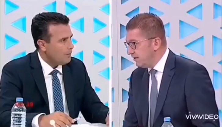 Zaev rejects Mickoski's invitation to a TV duel over the dispute with Bulgaria