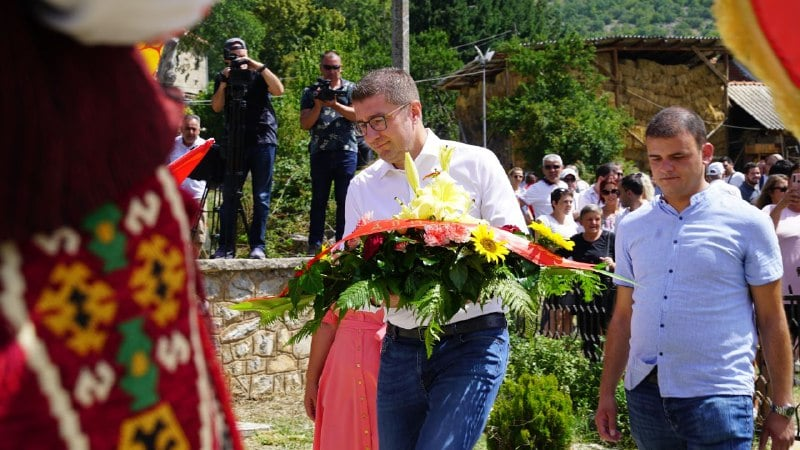 Ilinden unites generations of Macedonians for freedom said Mickoski, calling for unification against Zaev and the worst government so far