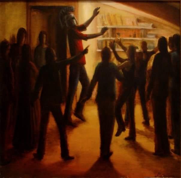 Painting from artist Matej Bogdanovski stolen in Skopje