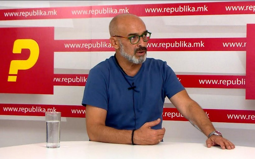 """Mihajlovski: Under the current government, Macedonia will never film a series like """"Shadows over the Balkans"""""""