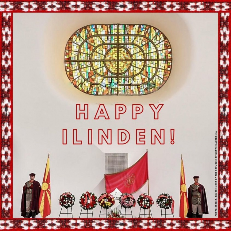 The US and Russian embassies in Macedonia congratulate the Ilinden holiday