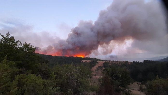 Gorno Melnicani fire contained