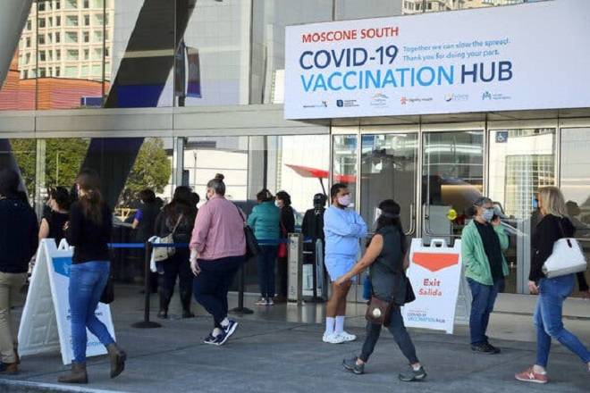 Biden administration urges Covid booster shots after 8 months