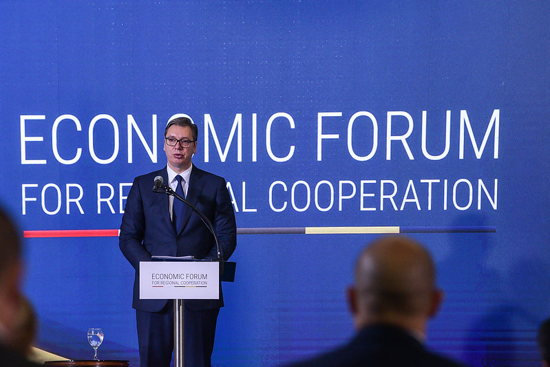 Open Balkans is historic opportunity for region, Vučić tells Politika