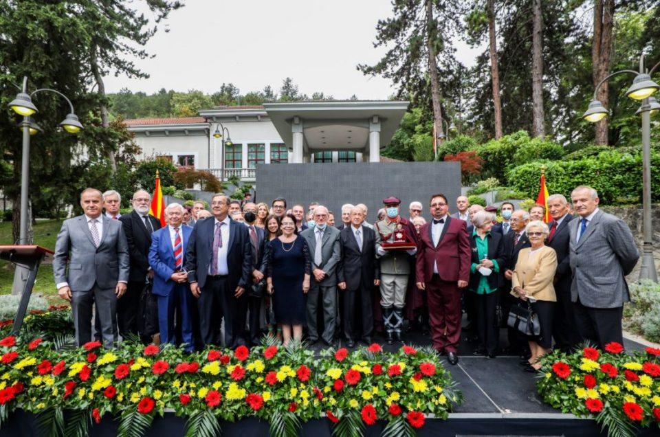 Pendarovski decorates the members of the first democratically elected Parliament
