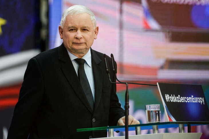 V4: Poland wants to remain in EU as a sovereign state, Jaroslaw Kaczynski says