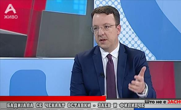 Nikoloski: If people vote for Zaev, he will sign that the Macedonians are Bulgarians, if not, he will sign complaints for the crimes he committed