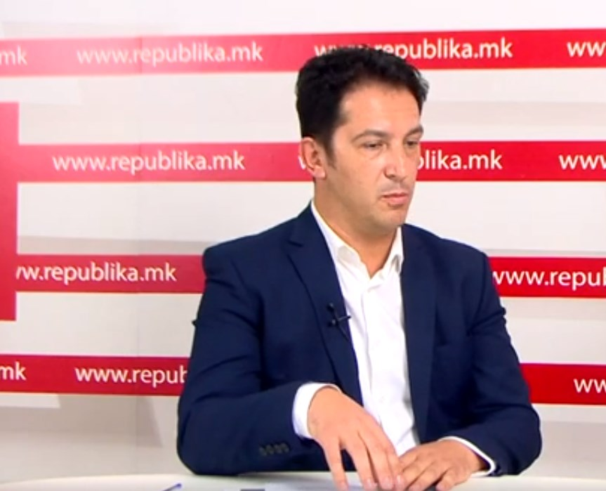 Candidate for Cair mayor, Bekim Sali: Fight against corruption is what brought us closer to VMRO-DPMNE