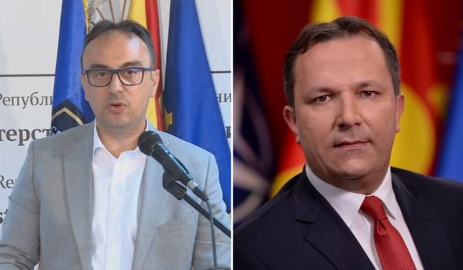 "In typical fashion, Interior Minister Spasovski blames his predecessor Nake Culev for the ""Armenia scandal"""