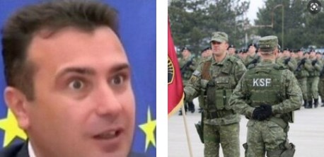 Zaev violates a UN Security Council resolution with his position on the Kosovo military