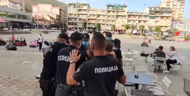 Tetovo remains on edge after the protests on Friday