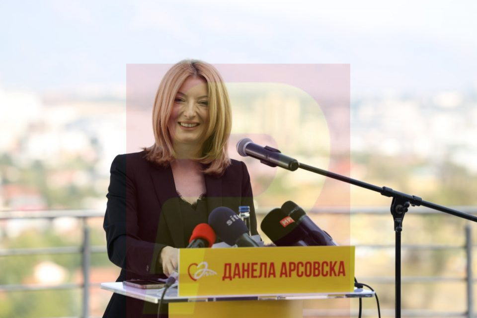 Join the team that will bring a successful Skopje story: Danela Arsovska is the choice for modern Skopje
