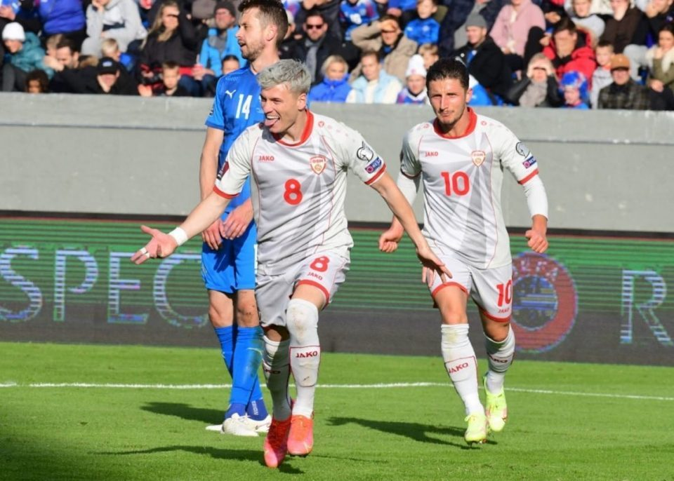 Macedonia slips in Iceland, sees its hopes for qualifying in the World Cup fade away
