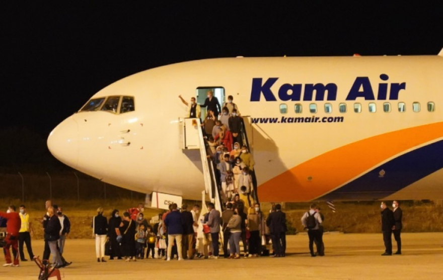 New group of Afghan refugees to arrive in Skopje today