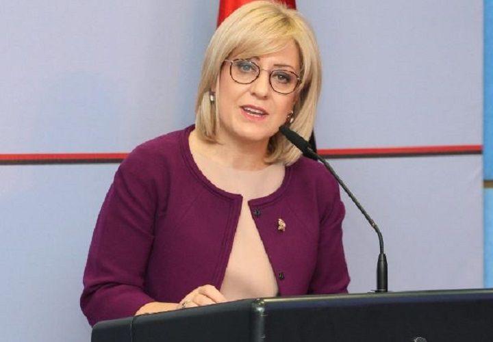 Future Speaker of the Albanian Parliament speaks Macedonian