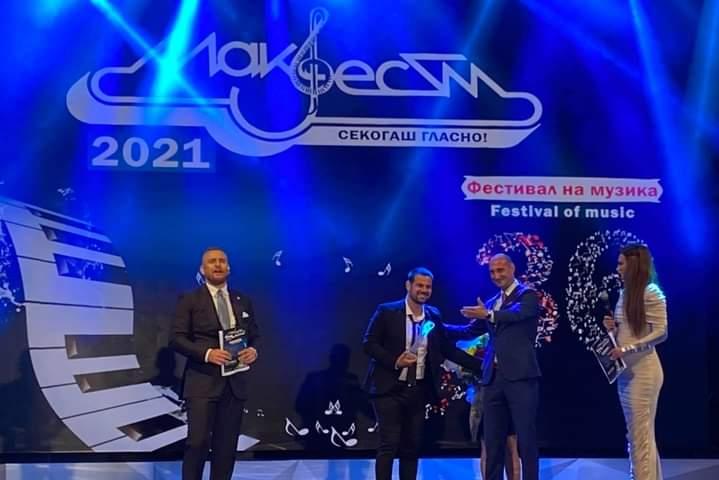 Aleksandar Todoroski wins Makfest 2021