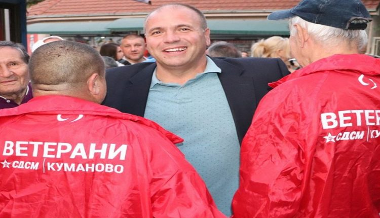Kumanovo Mayor Dimitrievski shows he has strong backing in the SDSM party branch despite his feud with Zoran Zaev