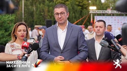 Mickoski: Arsovska and Stefkovski will present their vision for Gazi Baba and Skopje