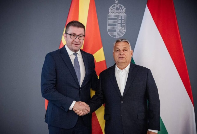 In meeting with Hristijan Mickoski, Viktor Orban expresses his support for Macedonia's EU path