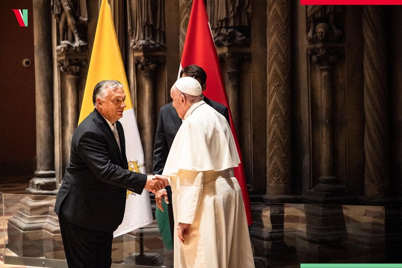 Pope Francis visits Hungary