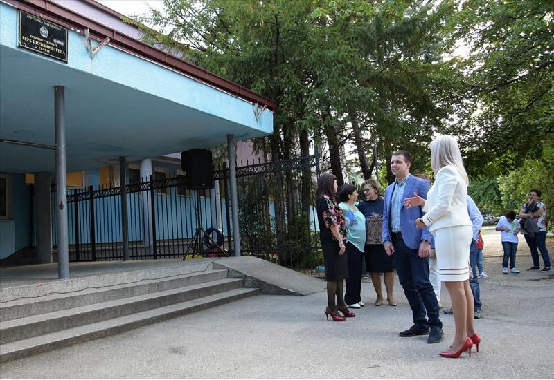 Coronavirus outbreak in an elementary school in Skopje