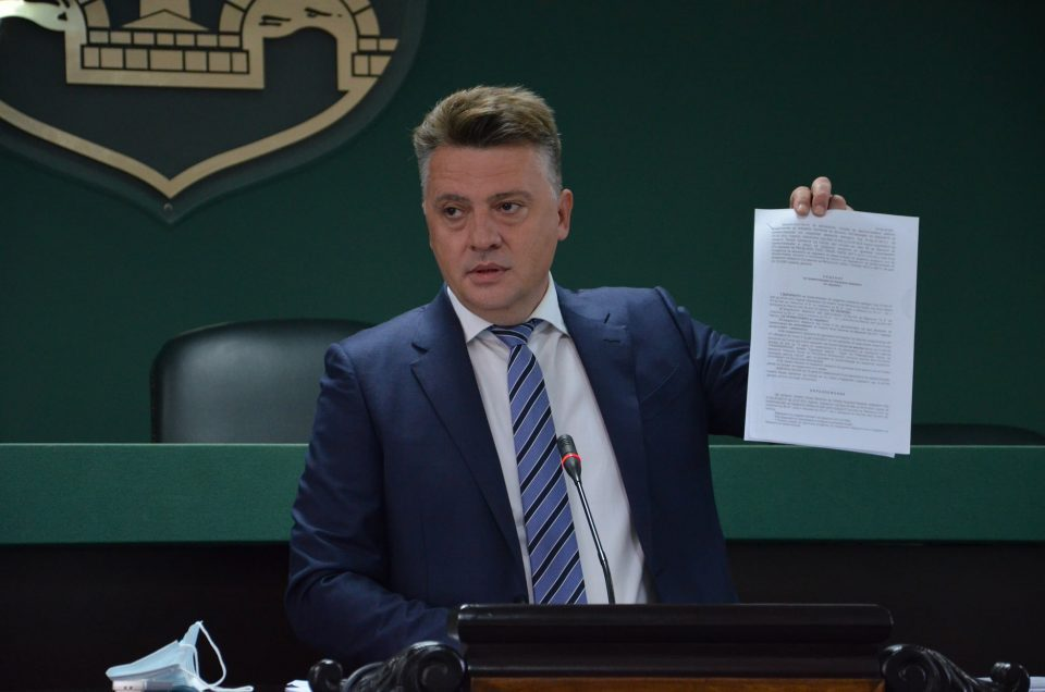 VMRO: Mayor Silegov is using his administrative workers to cover up a scandal