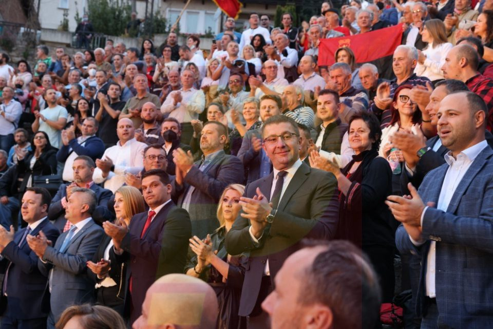 VMRO-DPMNE calls on ethnic Albanian voters to support the opposition