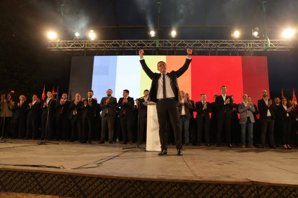 VMRO-DPMNE begins the election campaign – Mickoski promises change and new values