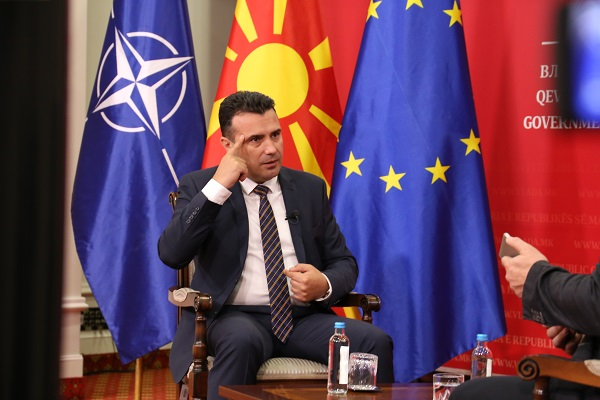 Zaev concedes that early general elections are possible if he loses the local elections in October