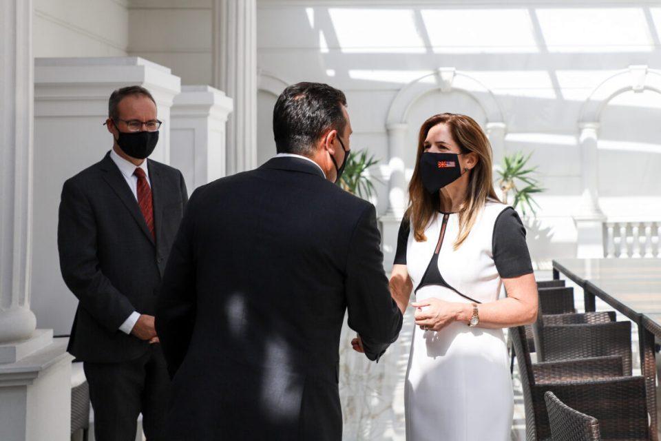 Zaev-Byrnes meeting: 26th anniversary of U.S.–Macedonian diplomatic ties