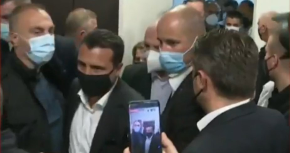 SDSM and DUI start to shift responsibility for Tetovo hospital fire, who is to blame, Filipce or Besimi?