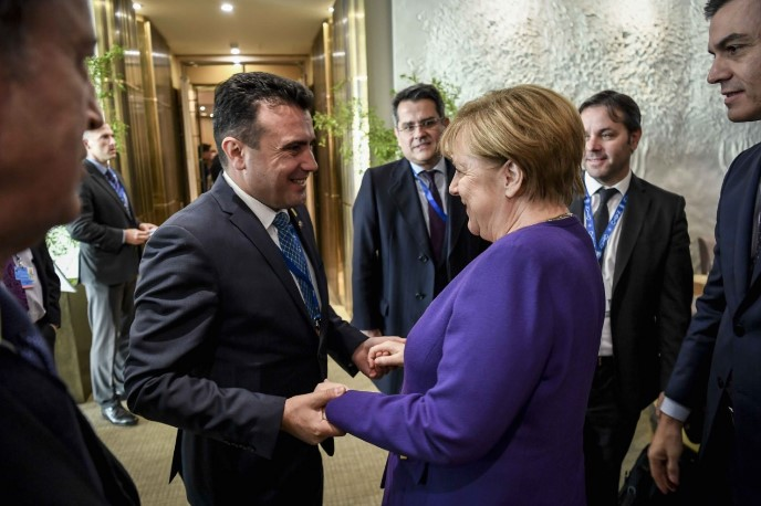 Zaev to meet Merkel in Tirana on Tuesday