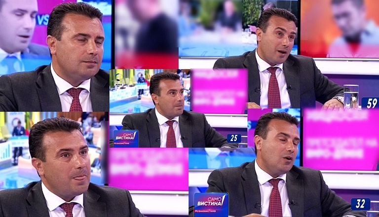 Mickoski dominates: Nervousness on Zaev's face says enough about how he went during the TV duel