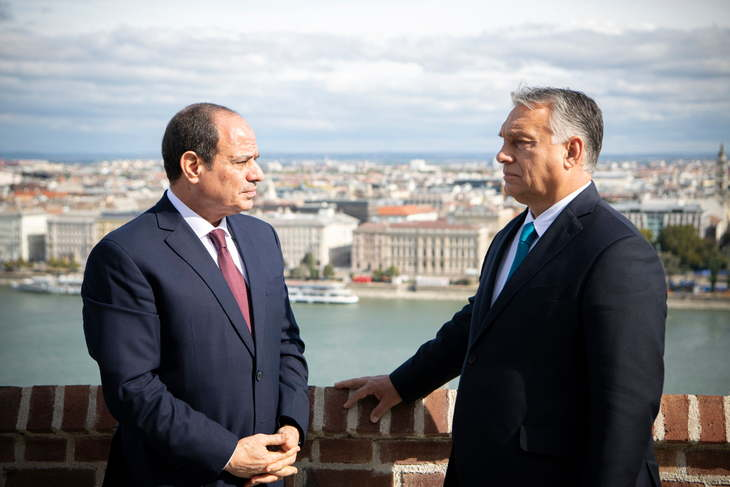 Orban: Enabling Egypt to protect its borders vital for Europe and Hungary