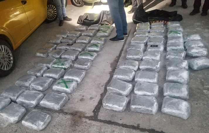 Group of Albanian and Macedonian marijuana smugglers arrested on the border with Greece