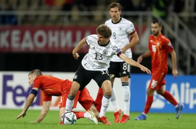 Germany beats Macedonia 0:4 in World Cup qualifier