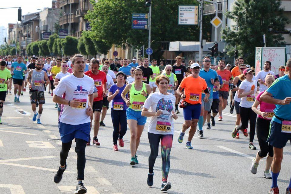 Annual Wizz Air Marathon begins in Skopje