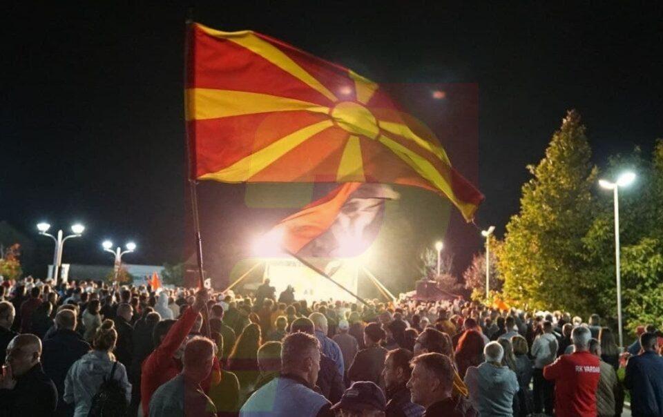 Live stream: VMRO-DPMNE's rally in Makedonska Kamenica