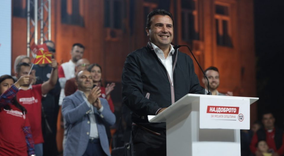 With the EU agenda and the Covid response in tatters, Zaev tries to campaign on the economy